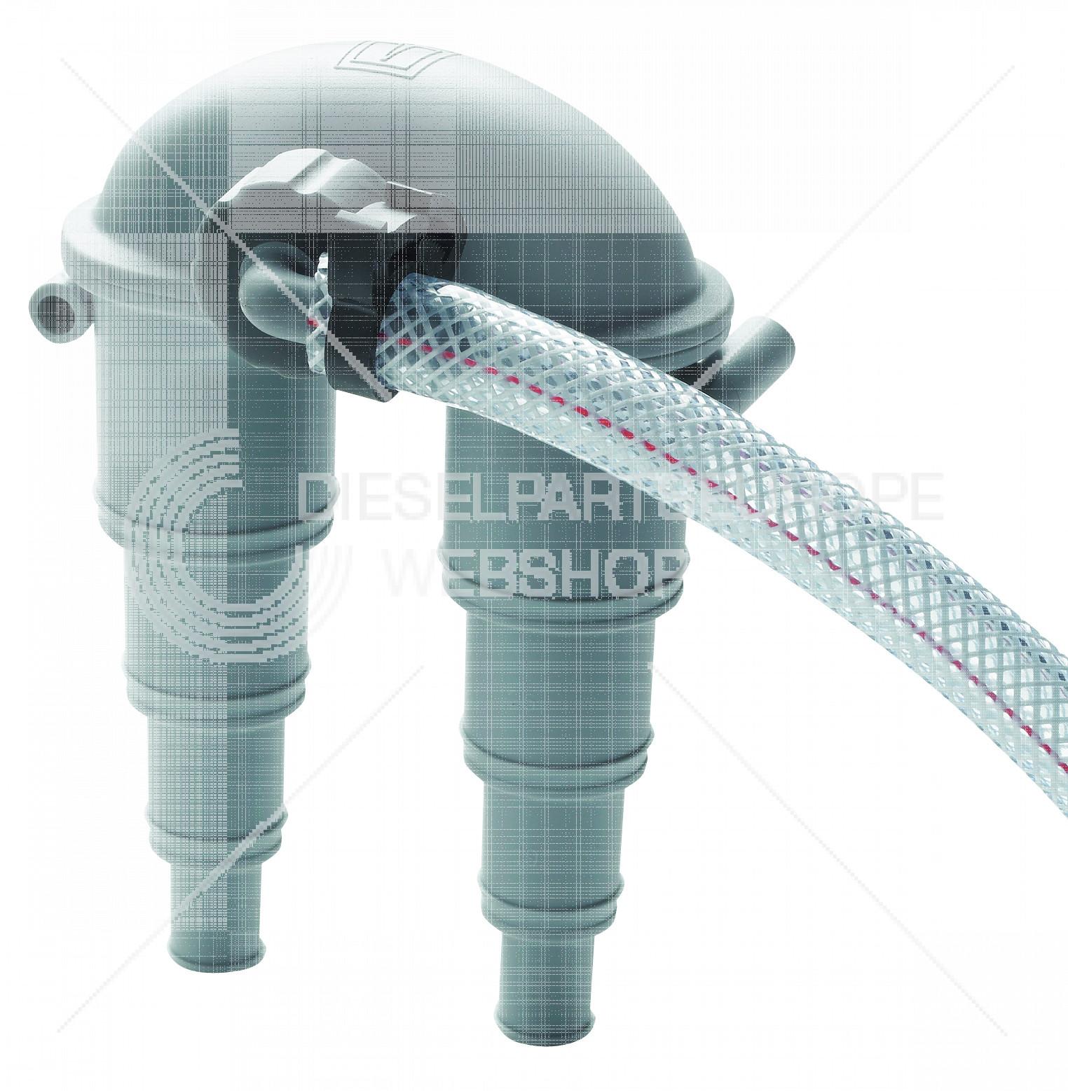 Beluchter type ASD 13/19/25/32 mm, met slang