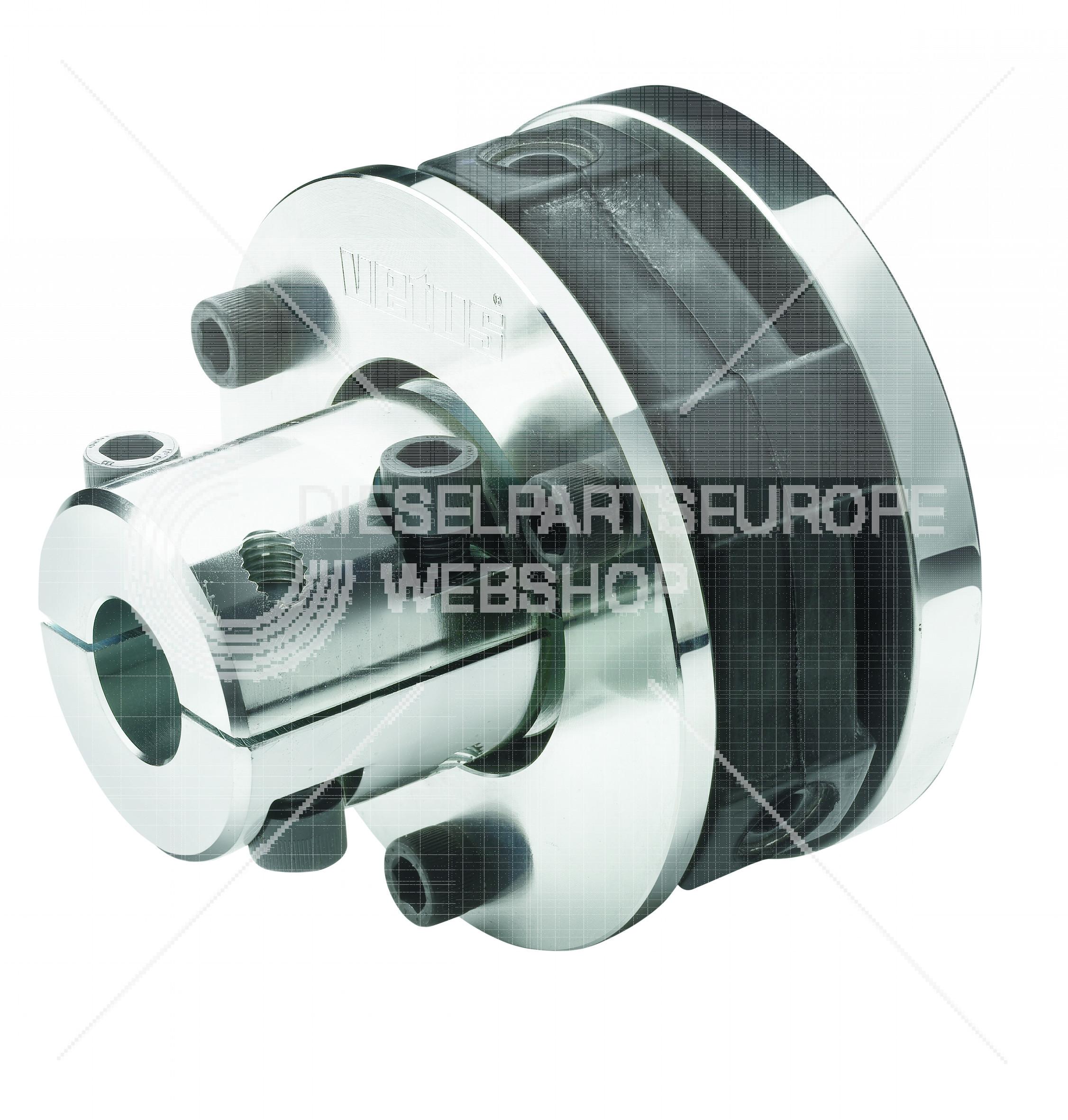 Type Bullflex  8, voor asdiameter 35 mm