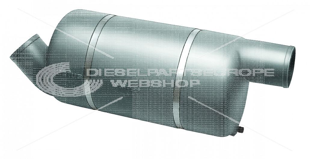 Demper, kunststof type MF100, 100 mm
