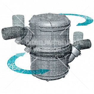 Waterlock, kunststof type NLP45