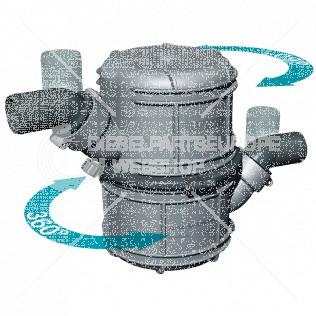 Waterlock, kunststof type NLP50