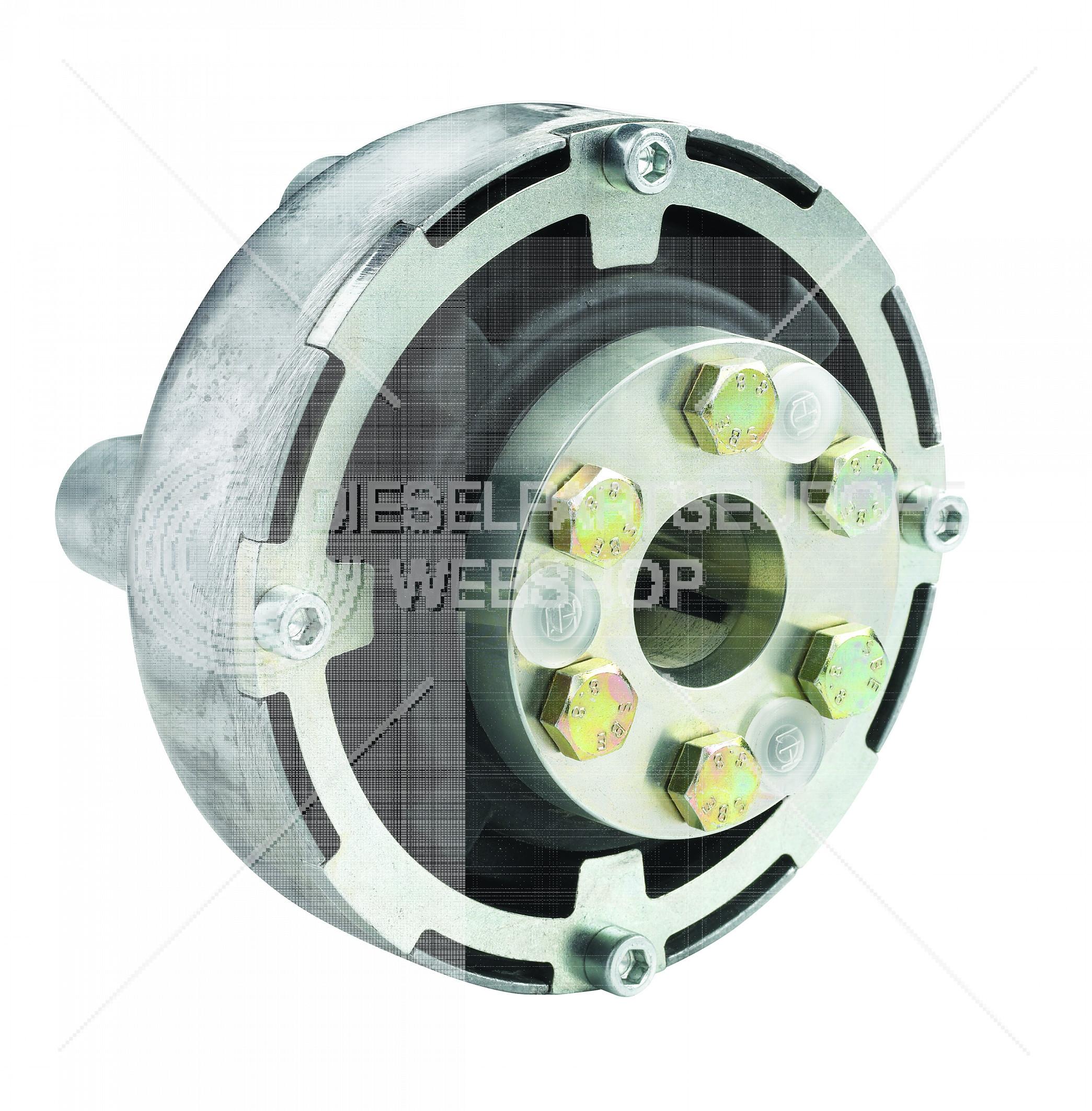 Type Uniflex 16, voor asdiameter 40 mm