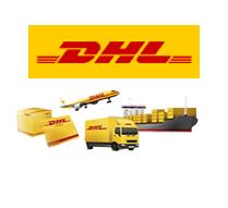 Bezorging door DHL